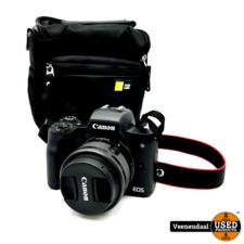 canon Canon EOS M50 Digitale Camera 2 Accu's - In Goede Staat