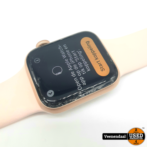 Apple Watch Series 5 40mm Gold - In Gebruikte Staat