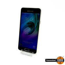 Samsung Samsung Galaxy A3 2016 16GB Goud - In Goede Staat
