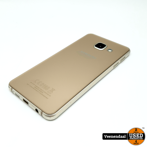 Samsung Galaxy A3 2016 16GB Goud - In Goede Staat