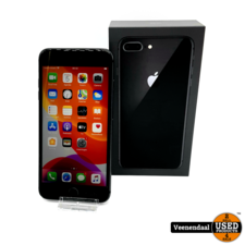 Apple Apple iPhone 8 Plus 64GB Space Gray Accu: 83% - In Goede Staat
