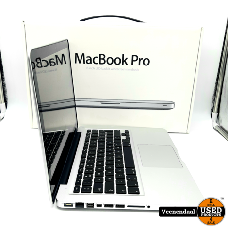 Apple Macbook Pro 2012 13Inch 500HDD 4GB - In Goede Staat