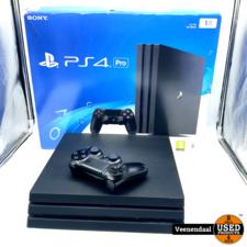 Sony WEG=WEG Sony Playstation 4 Pro 1TB Zwart - In Goede Staat