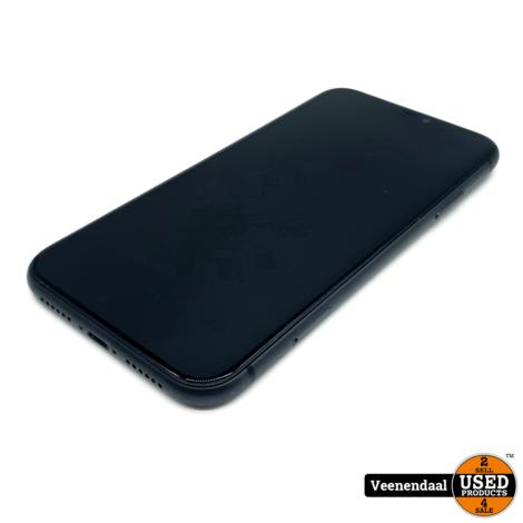 Apple iPhone 11 Zwart 64GB Accu 89% - In Goede Staat