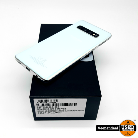 Samsung Galaxy S10 128GB Prism White - In Goede Staat