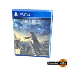 Sony Playstation 4 Final Fantasy XV - PS4 Game