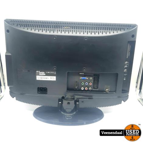 Acer AT1916D 19 Inch LCD-TV Zwart - In Goede Staat