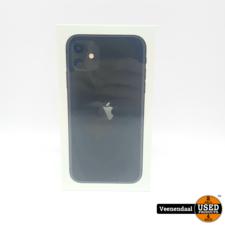 Apple Apple iPhone 11 256GB Zwart - Nieuw In Seal!