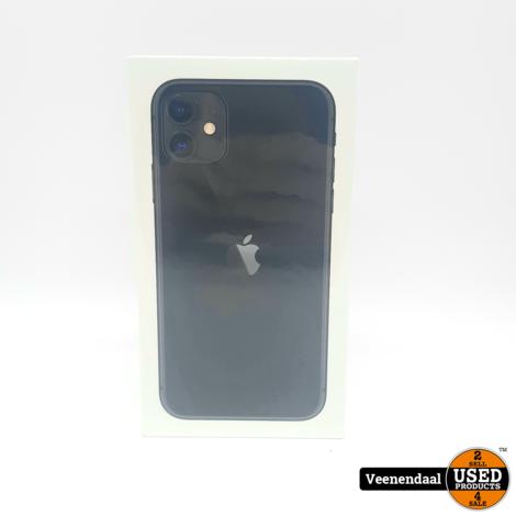 Apple iPhone 11 256GB Zwart - Nieuw In Seal!