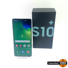 Samsung Samsung Galaxy S10 Plus 128GB Prism Green - In Goede Staat