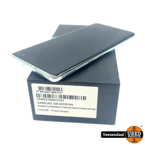 Samsung Galaxy S10 Plus 128GB Prism Green - In Goede Staat