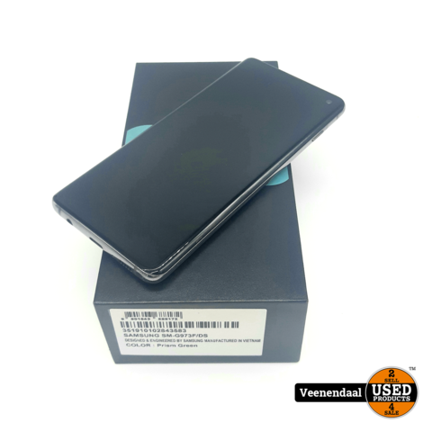 Samsung Galaxy S10 128GB Prism Green - In Goede Staat