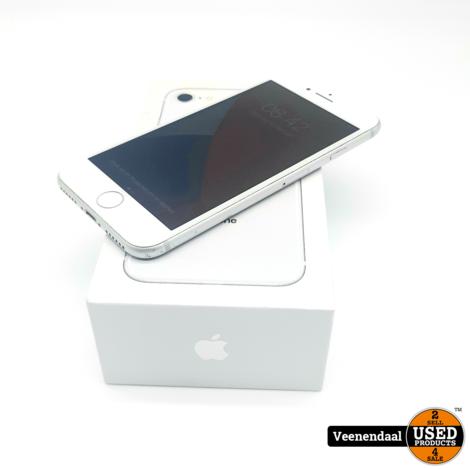 Apple iPhone 8 64GB Zilver Accu: 88% - In Goede Staat