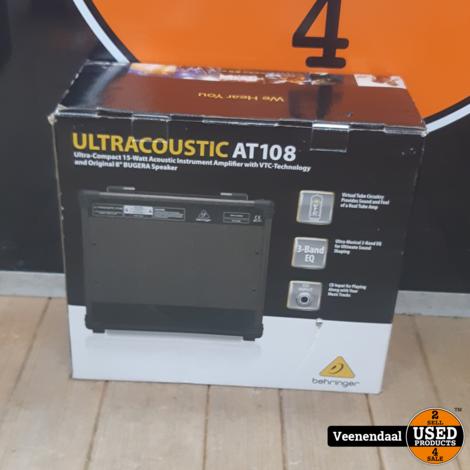 Behringer Ultra acoustic AT108 15Watt - Nieuw