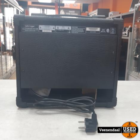 Behringer Ultrabass BT108 Combo 15Watt - In Goede Staat