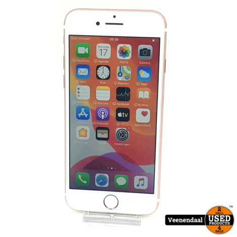 Apple iPhone 7 128GB Rose Gold Accu: 98% - In Goede Staat