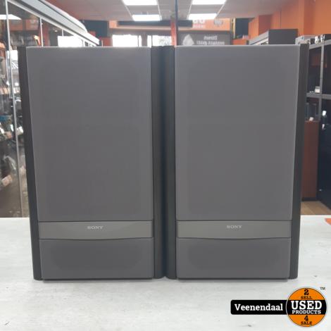 Sony SS-VF1A 100 Watt Speakers - In Goede Staat