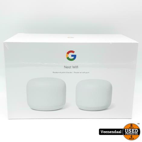 Google Nest Wifi Google Home Router + Modem - Nieuw In Seal