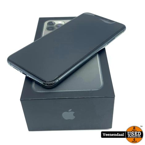 Apple iPhone 11 Pro Max 64GB Midnight Green - 5 MND OUD - ZGAN