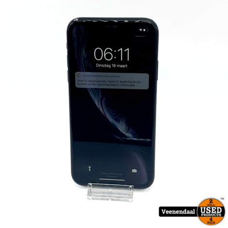 Apple iPhone XR 64GB Space Gray Accu: 88% - In Goede Staat
