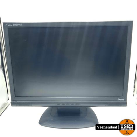 IIYama Prolite E1900WS 19 Inch Monitor - In Goede Staat