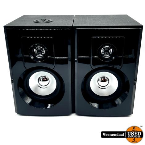 Fenton SHF404B 80Watt Bluetooth Speakers - In Goede Staat