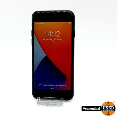 Apple iPhone 7 32GB Zwart Accu: 91% - In Goede Staat