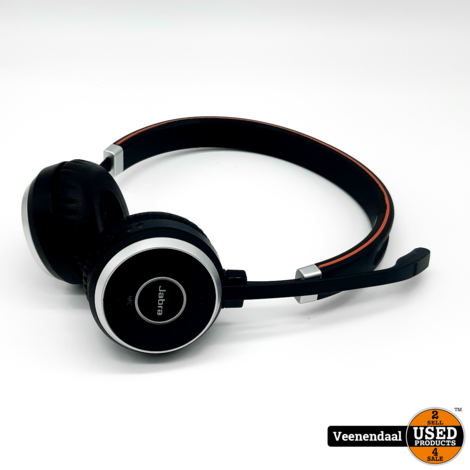 Jabra Evolve 65 MS Stereo Headset - In Goede Staat