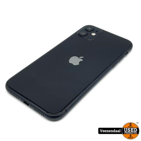 Apple iPhone 11 64 GB Zwart Nieuw - 2 Jaar garantie