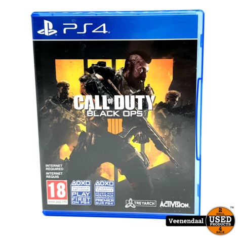 Call Of Duty: Black Ops 4 - Playstation 4 Game