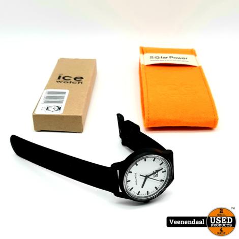 Icewatch Solar Horloge Zwart - In Goede Staat