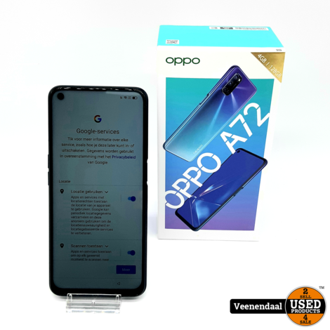 Oppo A72 128GB Twilight Black - In Goede Staat