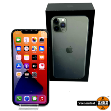 Apple Apple iPhone 11 Pro Max 64GB Midnight Green - In Goede Staat