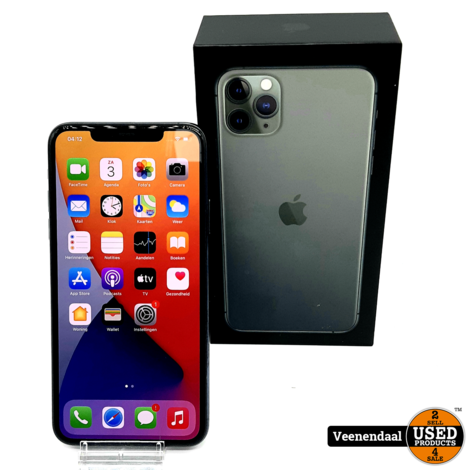Apple iPhone 11 Pro Max 64GB Midnight Green - In Goede Staat