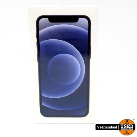 Apple iPhone 12 Mini 64GB Zwart - Nieuw + Gesealed