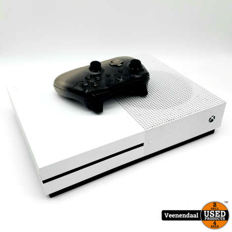 Microsoft Xbox One S 500GB Wit - In Nette Staat