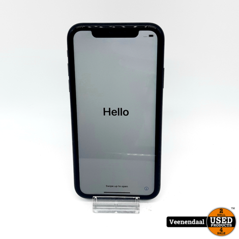 Apple iPhone XR 64GB Space Gray Accu: 90% - In Goede Staat