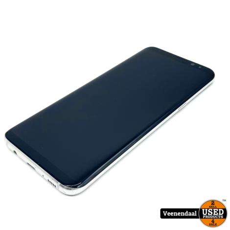 Samsung Galaxy S8+ 64GB Zilver - In Goede Staat