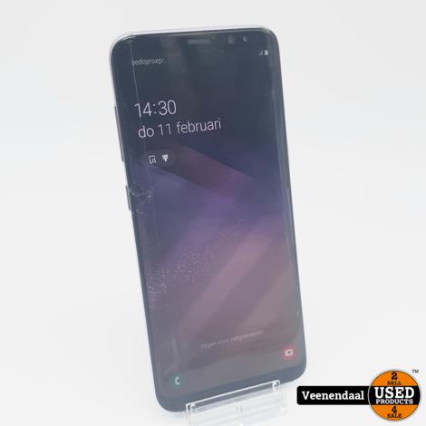 Samsung Galaxy S8 64GB Paars - Barst in het scherm