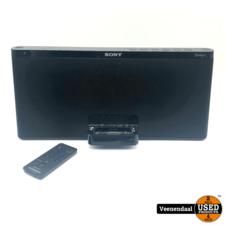 Sony Sony RDP-X60IP Dockingstation Zwart - In Goede Staat