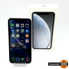Apple Apple iPhone XR 128GB Zilver Accu:92% - In Goede Staat