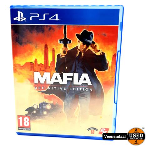 Mafia: Definitive Edition - PS4 Game