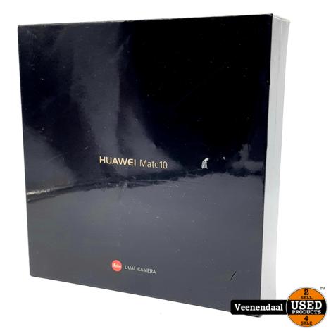 Huawei Mate10 64GB Black - Nieuw + Verzegeld