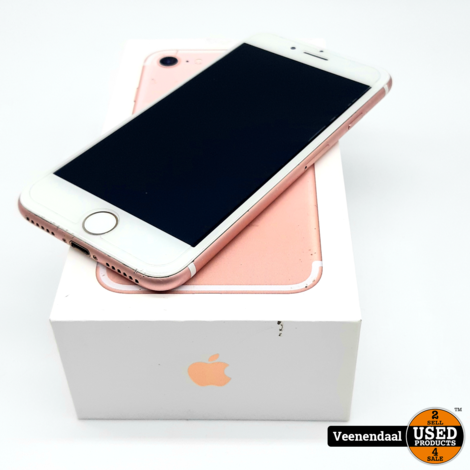 Apple iPhone 7 32GB Rose Gold Accu 84% - In Goede Staat