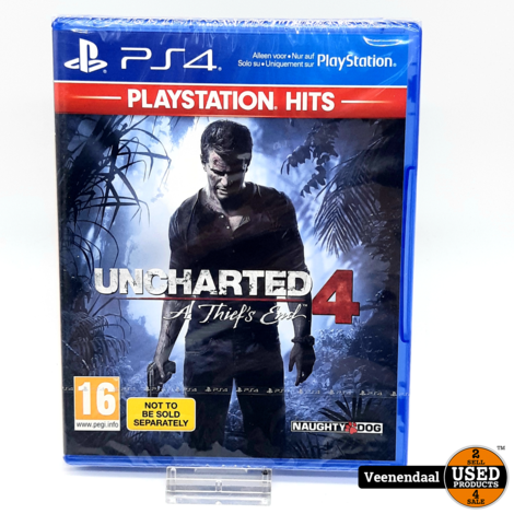 Uncharted 4: A Thief's End - PS4 Game - Nieuw