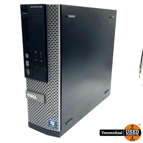 Dell D04S Desktop PC i3 2e Gen 4GB 120GB SSD - In Goede Staat