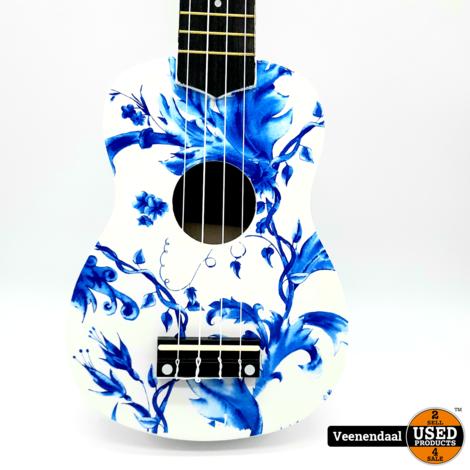 Calimex Ukelele Delft Blue - Nieuw