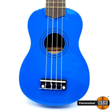 Calimex Ukelele Blauw - Nieuw