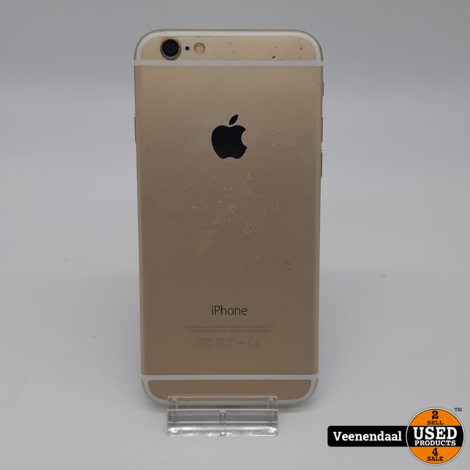 Apple iPhone 6 64GB Wit - Accu 95% - In Goede Staat