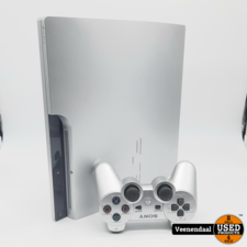 Sony Sony Playstation 3 Slim 320GB Zilver - In Goede Staat